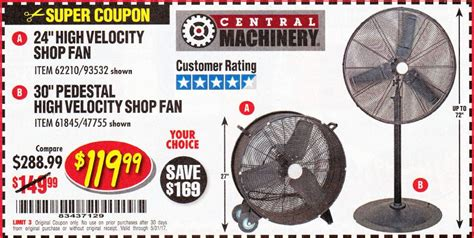harbor freight barrel fan harbor freight tools coupon database free coupons 25