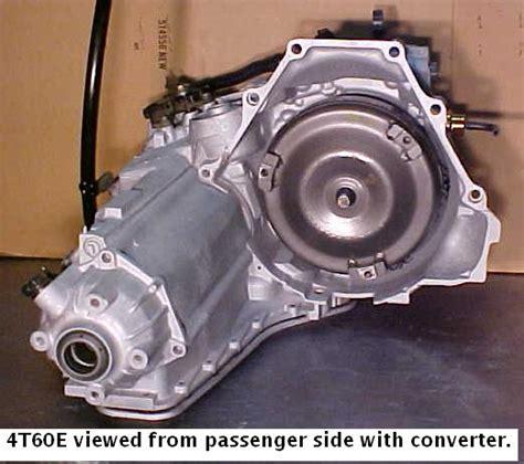 4t60e Diagram Bolt gm 4t60e transmission