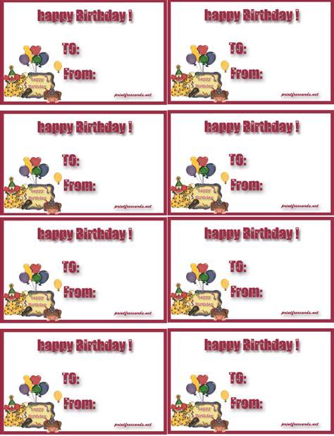 tag  printable tagsparty supplies birthday