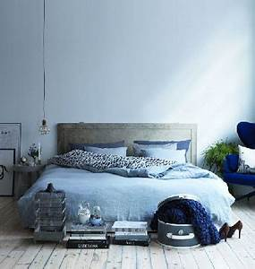 Chambre Gris Et Bleu : d co chambre bleu pastel et gris ~ Melissatoandfro.com Idées de Décoration