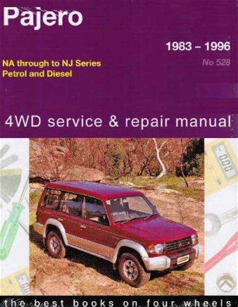 service and repair manuals 1993 mitsubishi pajero spare parts catalogs mitsubishi pajero 4wd 1983 1996 gregorys service repair manual sagin workshop car manuals