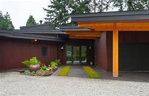 Entrée Maison Exterieur : am nager une entr e de maison moderne ~ Farleysfitness.com Idées de Décoration