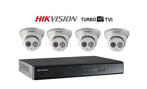 4 Camera Kit Hikvision Hd-tvi 1080p Full Hd Kit, Complete