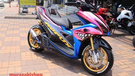 Aerox Modification by Yamaha Nvx 155 Aerox 155 Modification 2125 On