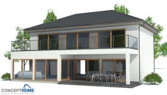 Modern Home Plans by Contemporary House Plans Modern House Plan Ch172