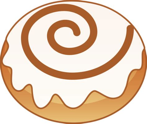 cartoon rolls sweet cinnamon roll free clip art
