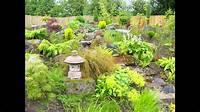 garden design ideas Sloped garden design ideas - YouTube