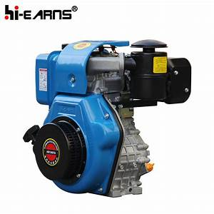 China Diesel Engine Electric Start With Keyway Shaft And