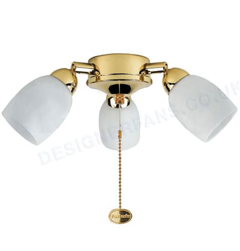 fantasia amorie polished brass ceiling fan light review