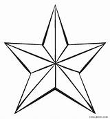 Coloring Star Pages Printable Whitesbelfast sketch template