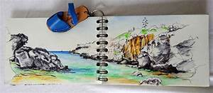 Carnet De Voyage Original : mon petit carnet de voyage de minorque stage aquarelle stage carnet de voyage stage floral ~ Preciouscoupons.com Idées de Décoration