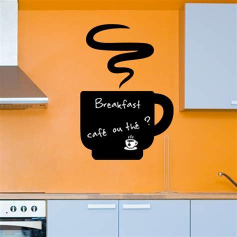stickers ardoise cuisine sticker ardoise café chaud stickers cuisine ambiance