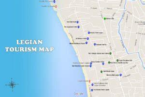 sanur map bali travel guides