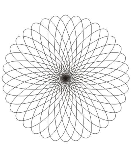 ausmalbilder mandala mit elipse malvorlagen