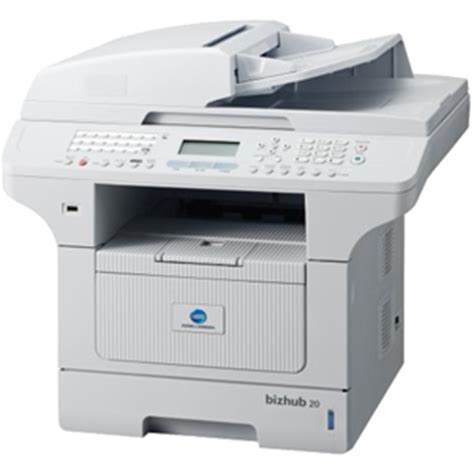 Measuring 14.6 x 15.1 x 9.7 inches, the konica minolta bizhub 20p workgroup printer is a blocky device with paper trays that could take care of 800 web. Konica Minolta bizhub 20 Black and White MFP - CopierGuide
