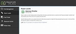 Razorleads - Razorplan User Guide