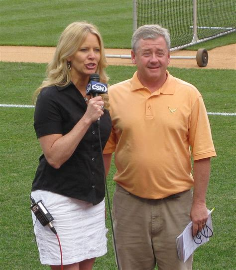Phillies pre-game show with Leslie Gudel | Flickr