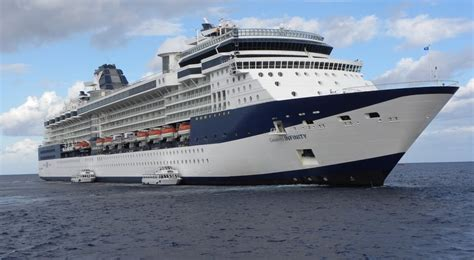 Celebrity Infinity  Itinerary Schedule, Current Position