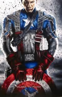 Captain America Drawings