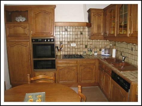cuisine en chene vue d 39 ensemble de la cuisine en chêne photo de une