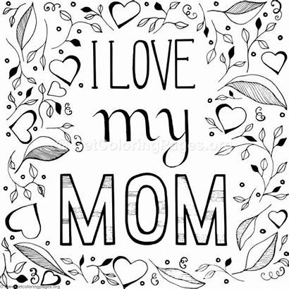 Mom Coloring Pages Getcoloringpages Daughter Colour