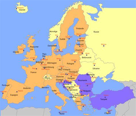 Carte Capitales Europe De L Est by Infos Sur Pays Deurope Et Toutes Les Capitale Arts Et