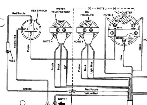 wiring diagram for boat tachometer i an 88 sea i need a wiring diagram for the