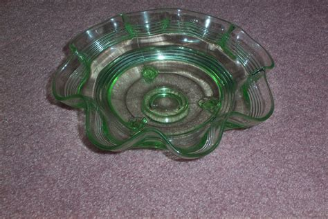 21136 how to make cardboard furniture 002105 anchor hocking green fluted ring bowl collectors weekly