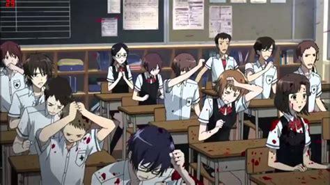 Anime Movie Gore Terbaik Zombie Deaths Blood Gore Anime Youtube