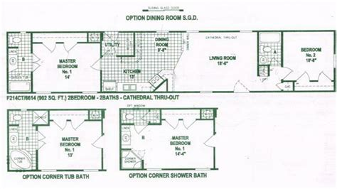 single home floor plans single wide mobile home floor plans used single wide