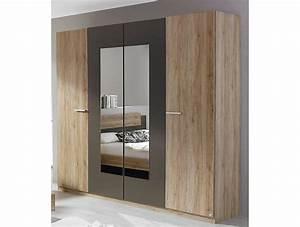 Armoire 4 Portes : armoire 4 portes brice tidy home ~ Teatrodelosmanantiales.com Idées de Décoration