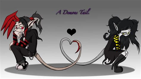 A Demons Tail By Piddies0709 On Deviantart
