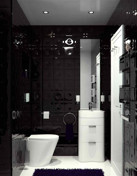 Modern Black Bathroom Ideas by 20 Sleek Ideas For Modern Black And White Bathrooms Home