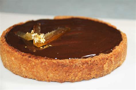 recette tarte au chocolat avec pate brisee recette tarte chocolat orange