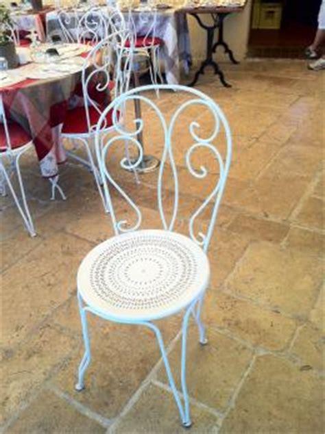 chaises fer forg 233 d occasion table de lit