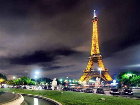 Paris Paris City At Night