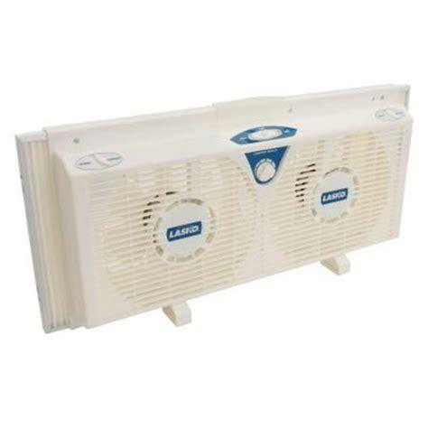 window exhaust fan home depot lasko 8 in electrically reversible twin window fan with