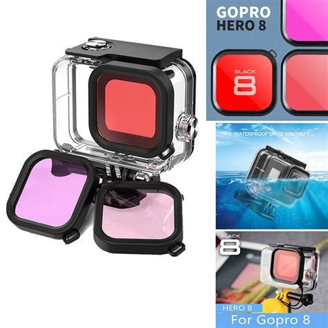 gopro hero black waterproof case diving protective