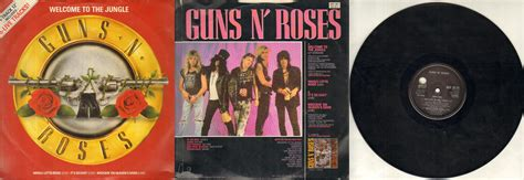 Guns N Roses Welcome To The Jungle Records, Vinyl And Cds