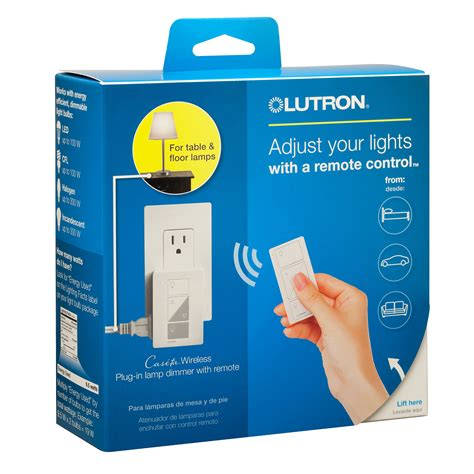plug in l dimmer with remote caseta plug in l dimmer with pico remote control kit by