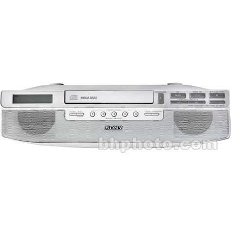 under kitchen cabinet radio cd player sony icf cd523 under cabinet kitchen cd clock radio