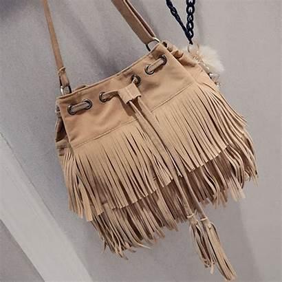 Retro Femme Suede Pelle Handbags Bags Tracolla
