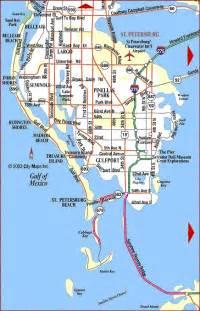 St. Petersburg Florida Map