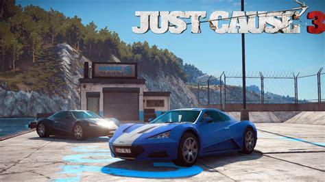 Just Cause 3 Secret Super Car