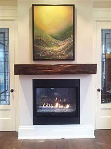 Reclaimed, Wood, Mantels, For, A, Rustic, Or, Antique, Fireplace, Look, U2013, Homesfeed