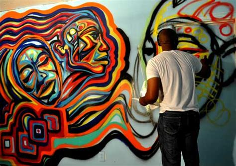Abstract By Black Artists by Seven American Masters Of American