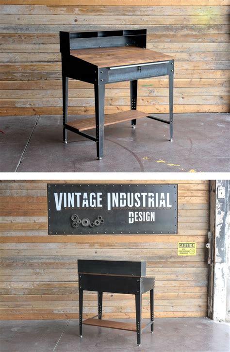 penn desk  vintage industrial furniture  phoenix az