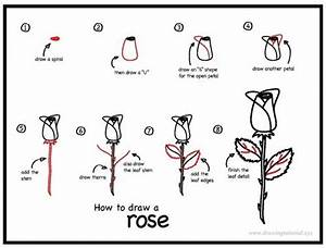 50 Easy Ways to Draw a Rose - Learn How to Draw a Rose