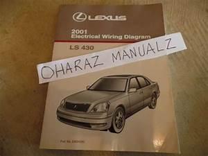 Buy 2001 Lexus Ls430 Electrical Wiring Diagram Service Manual Oem Motorcycle In Westville
