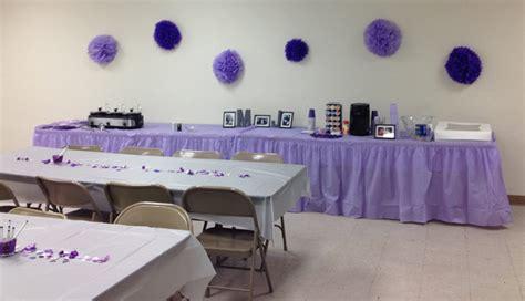 purple  grey bridal shower ideas  sunshine
